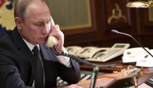 Владимир Путин обсъди въпроси на сътрудничество с ръководителя на Европейския съвет