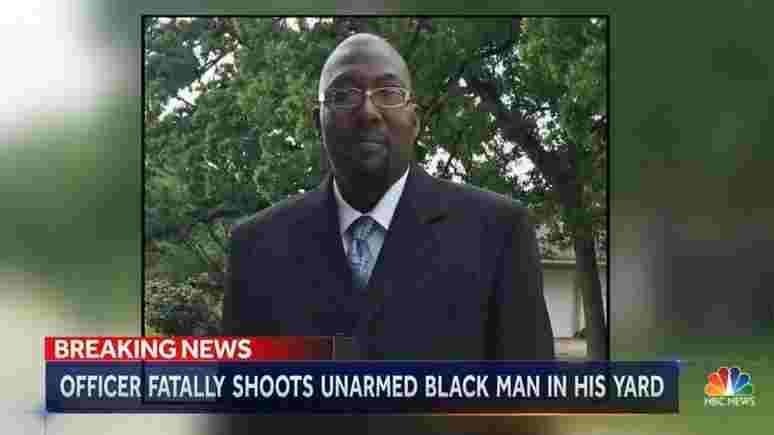 NBC: Невъоръжен афроамериканец е застрелян от полицай в двора на собствения му дом (видео)