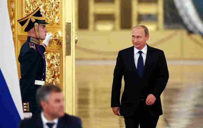 Путин се подготвя да приеме капитулацията на Украйна