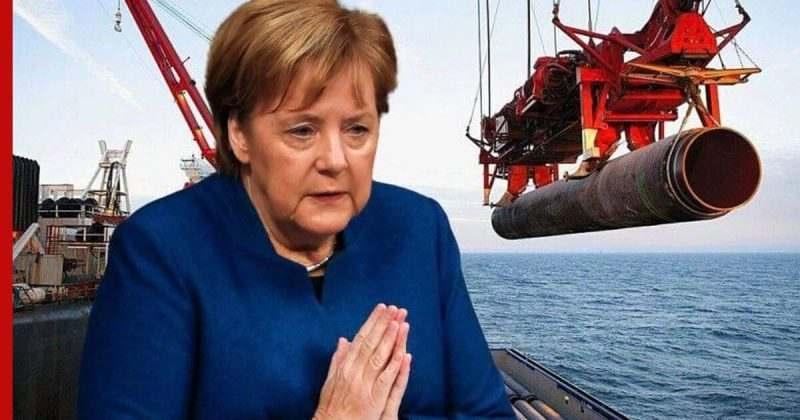 """Меркел: Екстериториалните санкции за """"Северен поток 2"""" не са приемливи"""