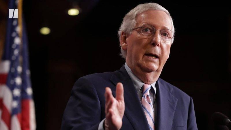 """Мич Макконъл: US Сенатът не може да проведе """"честен"""" процес срещу Тръмп преди края на мандата му"""