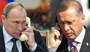 Владимир Путин проведе телефонен разговор с Ердоган