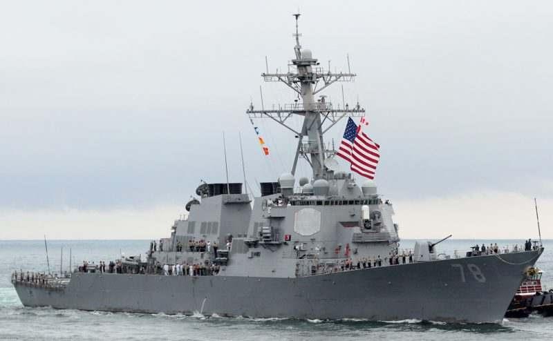 Позор: Към Черно море се насочи есминец на САЩ с 60 крилати ракети за учение с България срещу Русия