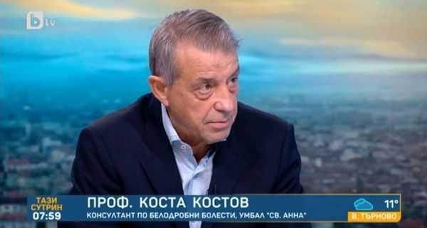 Проф. Костов: Либерализирането на мерките ще доведе нова вълна, дайде да удържим и февруари!