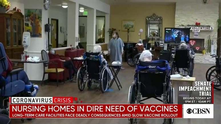 """CBS: В американските домове за възрастни """"отчаяно"""" не достигат анти-коронавирусни ваксини"""