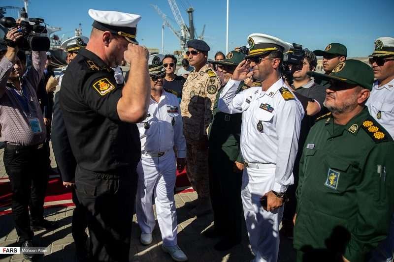 Старт на военноморски учения в Индийския океан между Русия и Иран