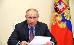 Владимир Путин: Няма да оставим Донбас никога в беда!