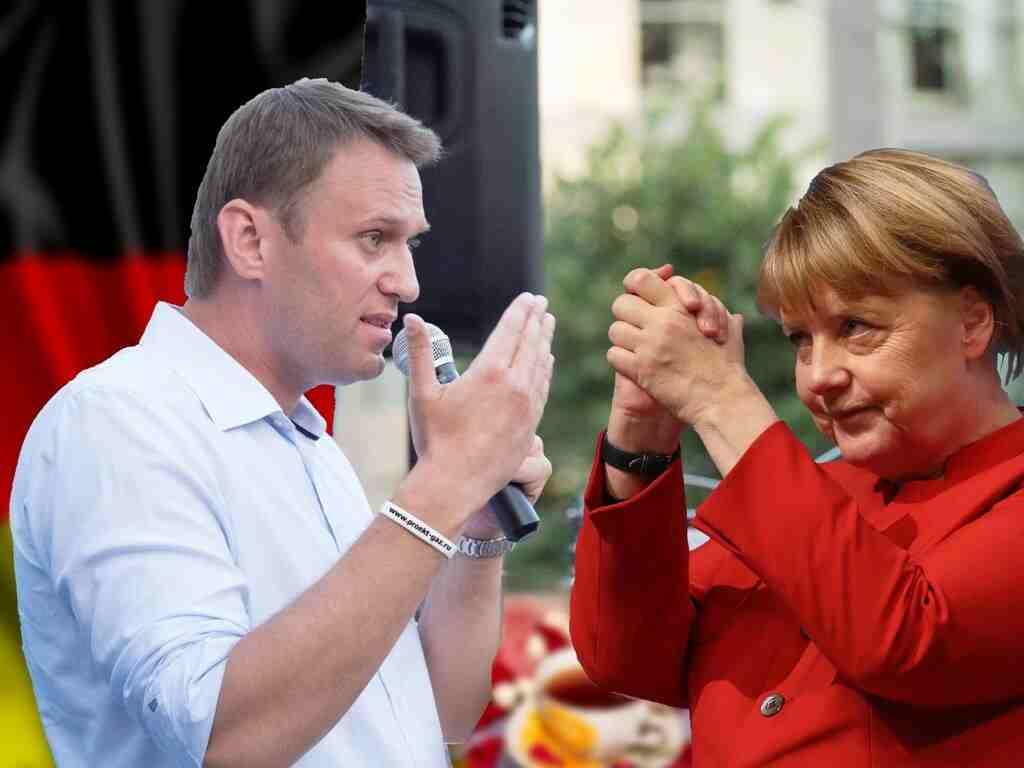 Навални бил охраняван от немските спецслужби като личен гост на Меркел