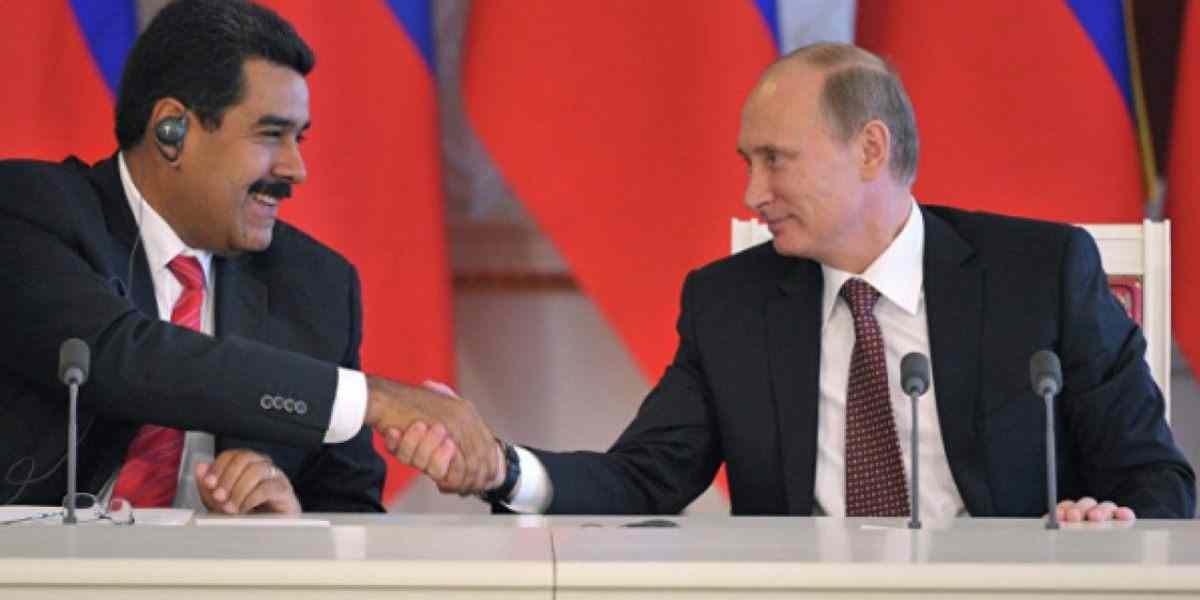 СМИ: Путин и Мадуро, братя навеки