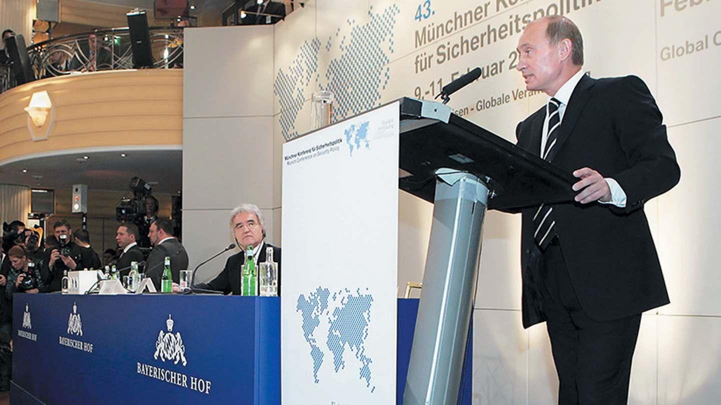 Путин няма да говори на Мюнхенската конференция