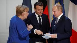 Владимир Путин обсъди с Меркел и Макрон ситуацията в Донбас и доставката на Sputnik V в ЕС