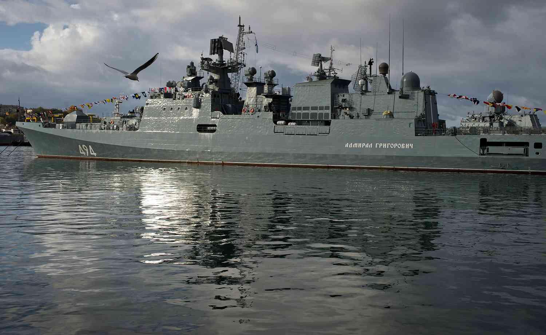 Боен кораб на Русия създава пункт за базиране на ВМФ в Судан