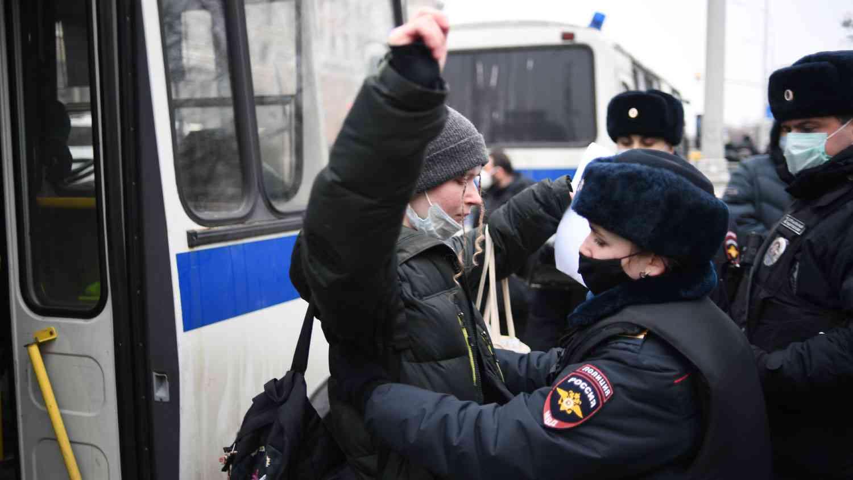 1,4 хиляди подрастващи са участвали в незаконните действия през януари в Русия
