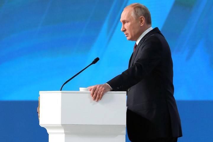 Путин лице в лице ще направи посланието си до Федералното събрание