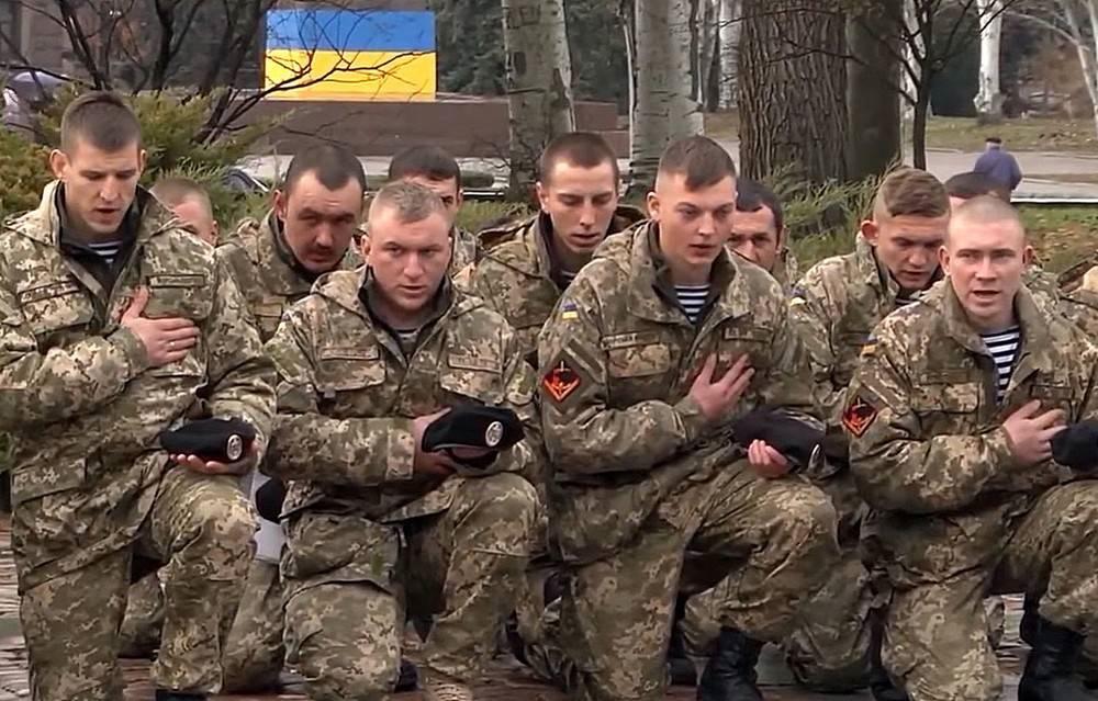 Морската пехота на Украйна дезертира, виждайки концентрацията на руски войски на границата