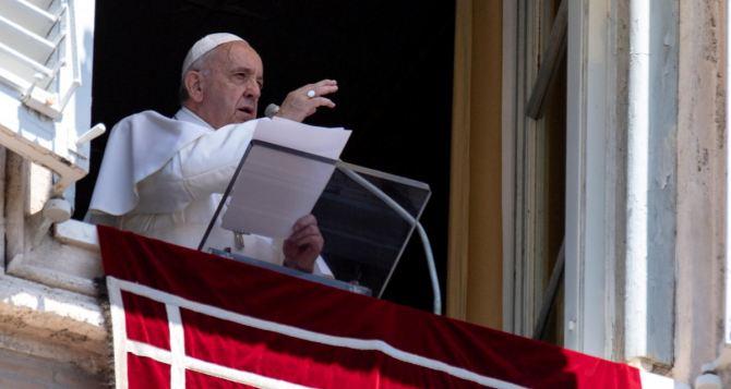 Папата е загрижен от ръста на военната активност в Украйна