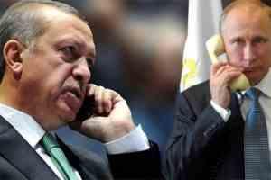Владимир Путин обсъди с Ердоган неизпълняването от страна на Киев на Минските споразумения