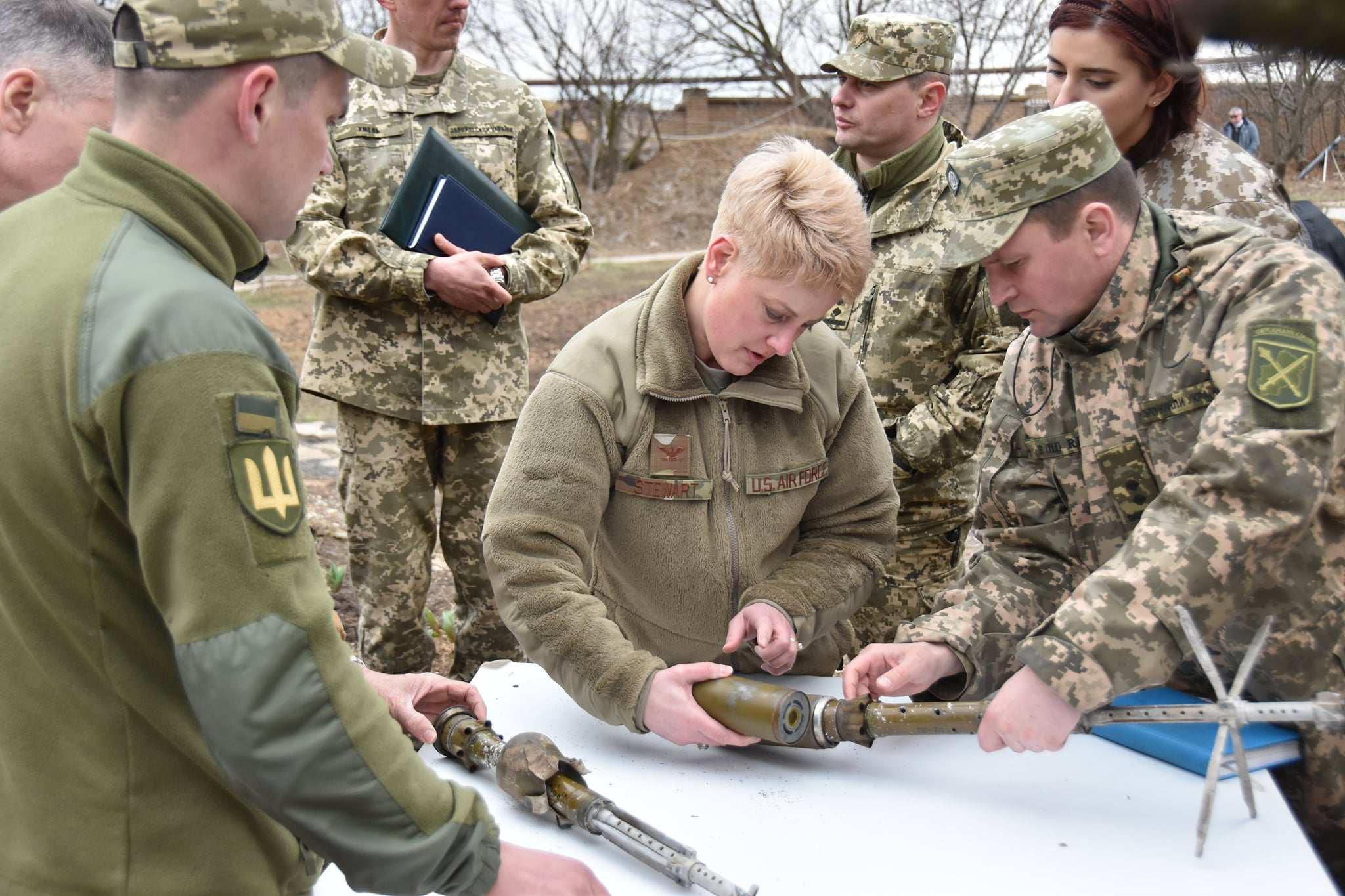 Делегация от САЩ посети района на военната операция в Донбас