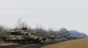 """Въоръжените сили на Украйна проведоха учения по отразяване на """"атаката от агресора"""" близо до територията на Крим"""