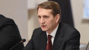 """Сергей Наришкин нарече Чехия държава с """"ограничен суверенитет"""" в дипломацията"""