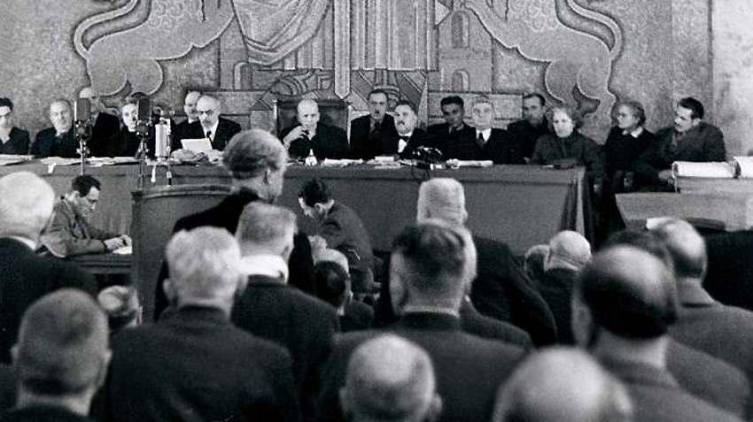 Из разпита на Багрянов от Народния съд, 2 част