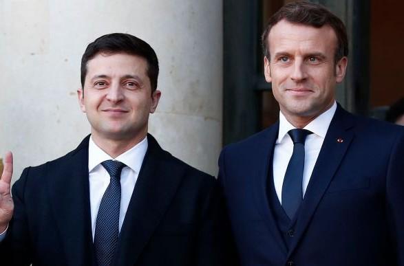Зеленски ще се срещне с Макрон в Париж следващата седмица