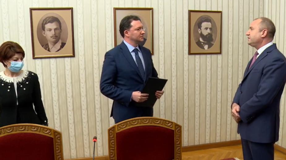 ГЕРБ-СДС върна мандата за съставяне на правителство