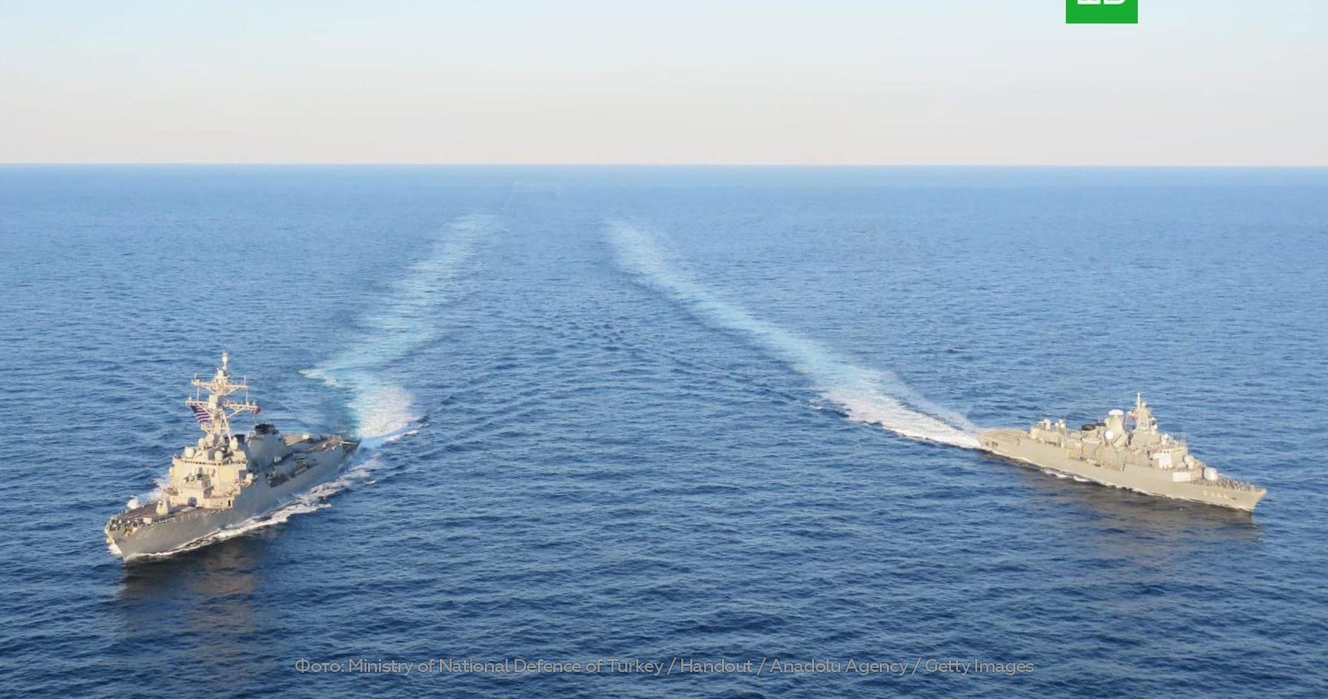 Русия коментира съобщенията за кораби на САЩ в Черно море