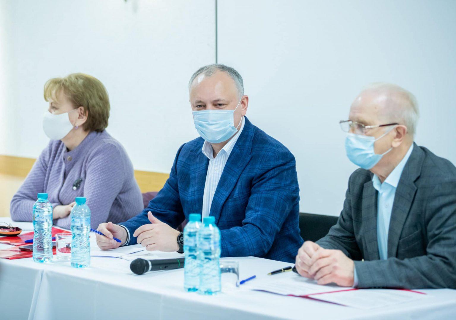 В Молдова Социалистическата партия поиска оставката на президента