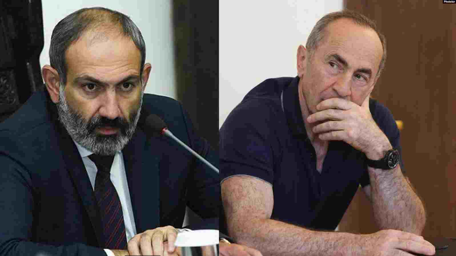 Екс-президентът на Армения Кочарян съди Пашинян