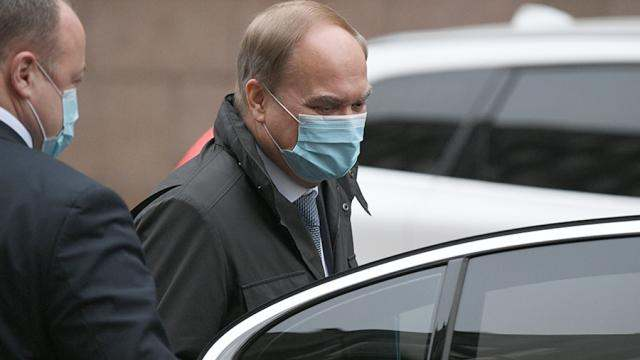 Руският посланик в САЩ Антонов пристигна в руското външно министерство