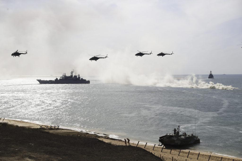 Авиацията на ЮВО и Черноморския флот се върнаха от Крим в базите си
