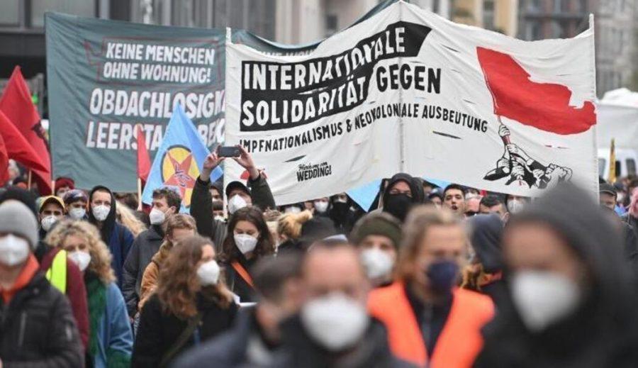 Rundfunk Berlin-Brandenburg: Берлин бе потопен от първомайски антикапиталистически демонстрации