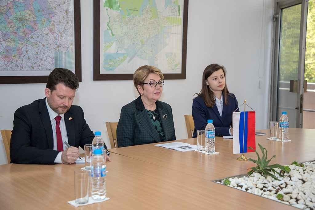 Посланикът на Русия в България посети Стара Загора
