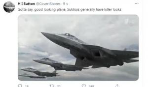 """""""Гответе памперсите -"""" Сухите"""" летят"""" в САЩ възхитени от """"убийствената"""" красота на Су-57"""