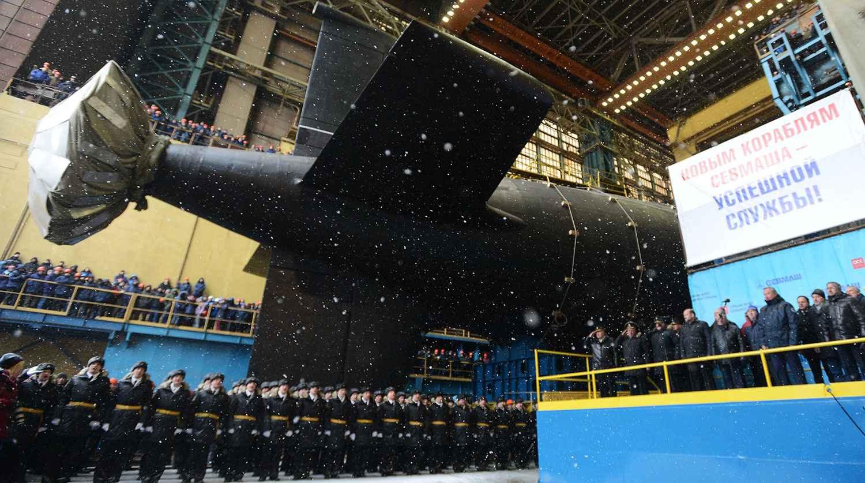 """Ядрената подводница """"Казан"""" влезе в състава на руския флот"""