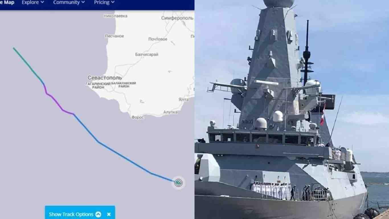 Решението за преминаването на Defender край Крим е взето от британския премиер