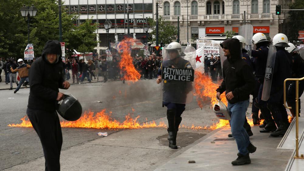 Гърция парализирана: Мощен отпор срещу промените в трудовото законодателство