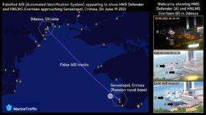 """Украинска станция """"изпраща"""" кораби на НАТО към Севастопол"""