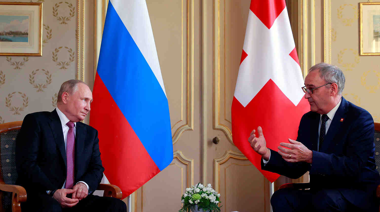 Швейцарският президент сподели за качеството на Путин, което цени