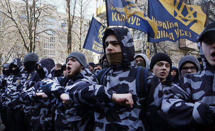 """Френски сенатори шокирани от неонацистите от """"Азов"""" в Киев"""