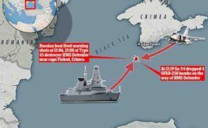 """Великобритания обясни загубата на документи за миноносеца """"Defender"""""""
