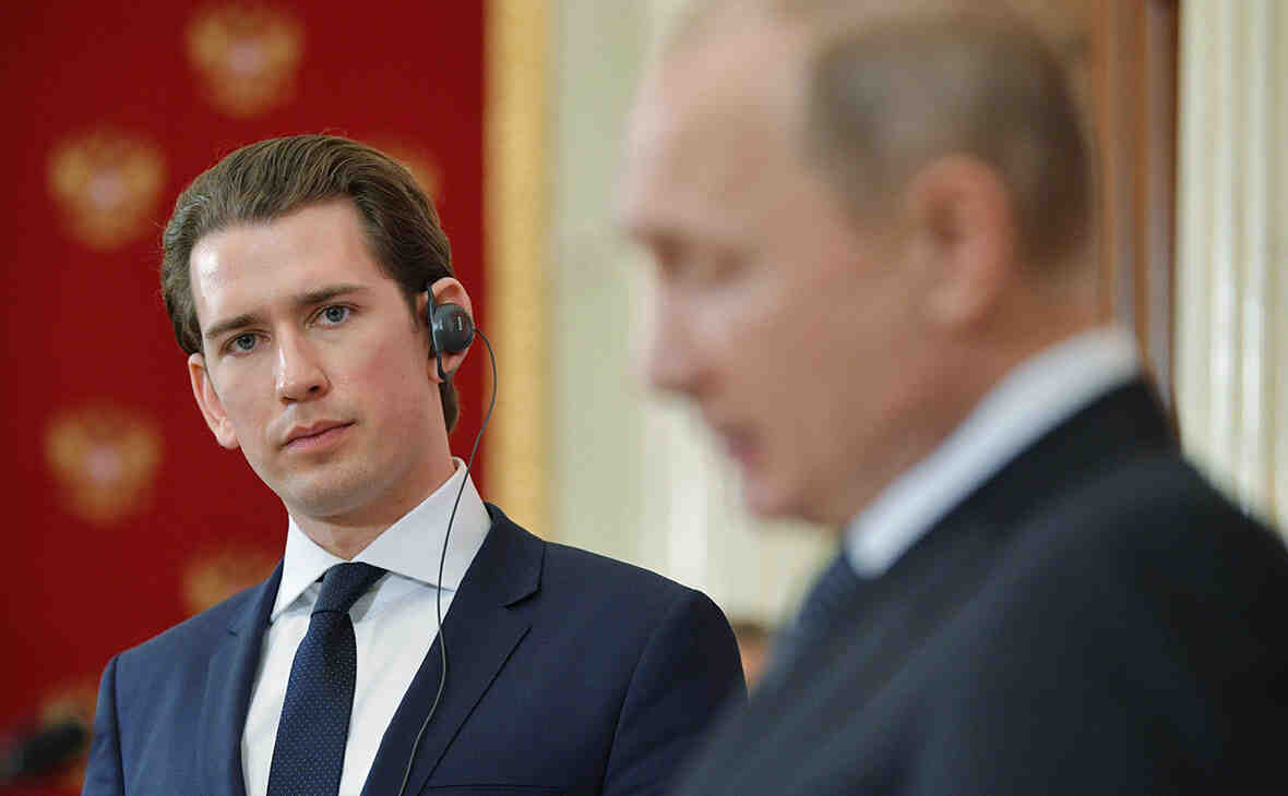 Себастиан Курц: Каналите за диалог с Русия трябва да са постоянно отворени!