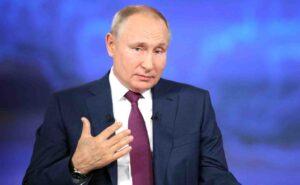 "Владимир Путин: ""военното усвояване"" на Украйна застрашава интересите на Русия"