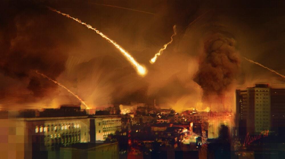 Израелски въздушен удар срещу Дамаск