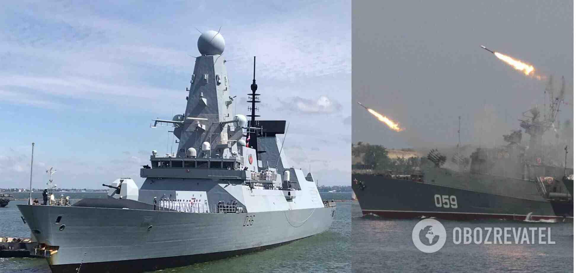 Крим за инцидента с британския есминец в Черно море