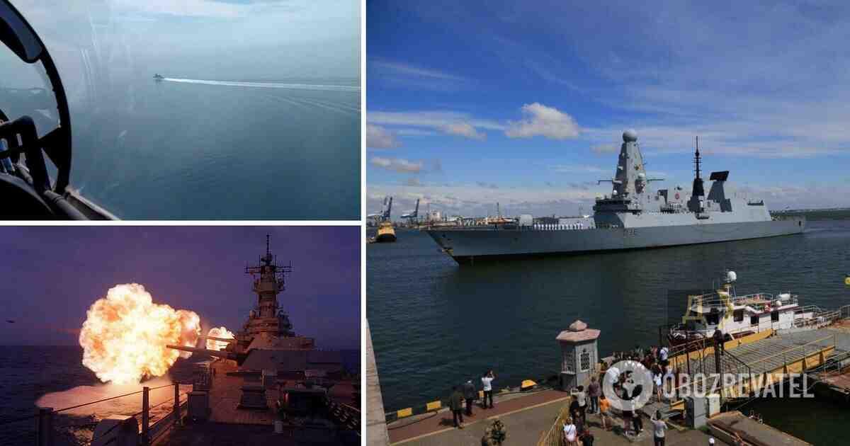 The Times: 20 руски самолета ескортирали британския кораб до Крим