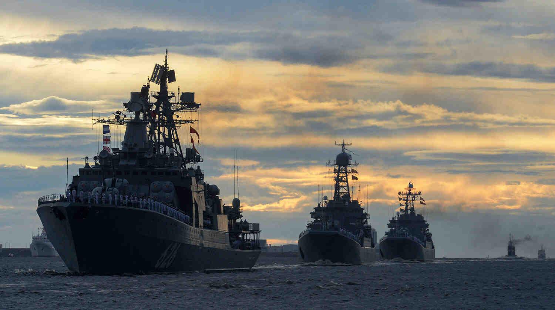 Тихоокеанският флот на Русия достигна мястото на провеждане на ученията