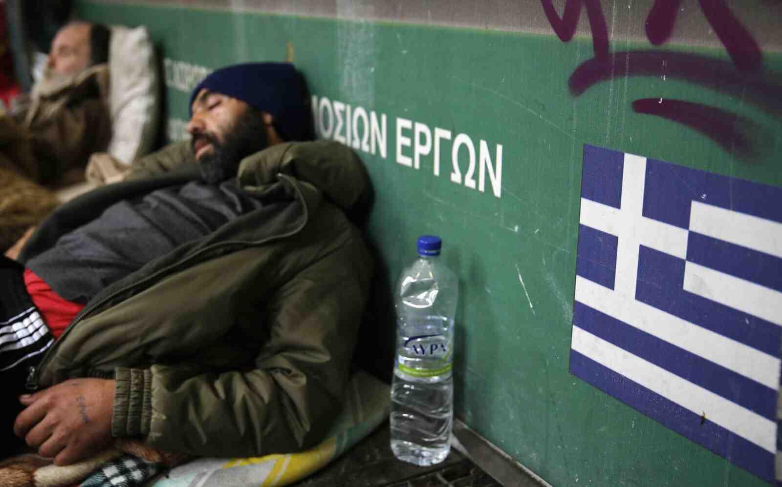 18 на сто от гръцките семейства са на прага на бедността