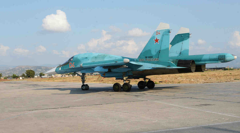 Руските бомбардировачи Су-34 проведоха учения край Воронеж